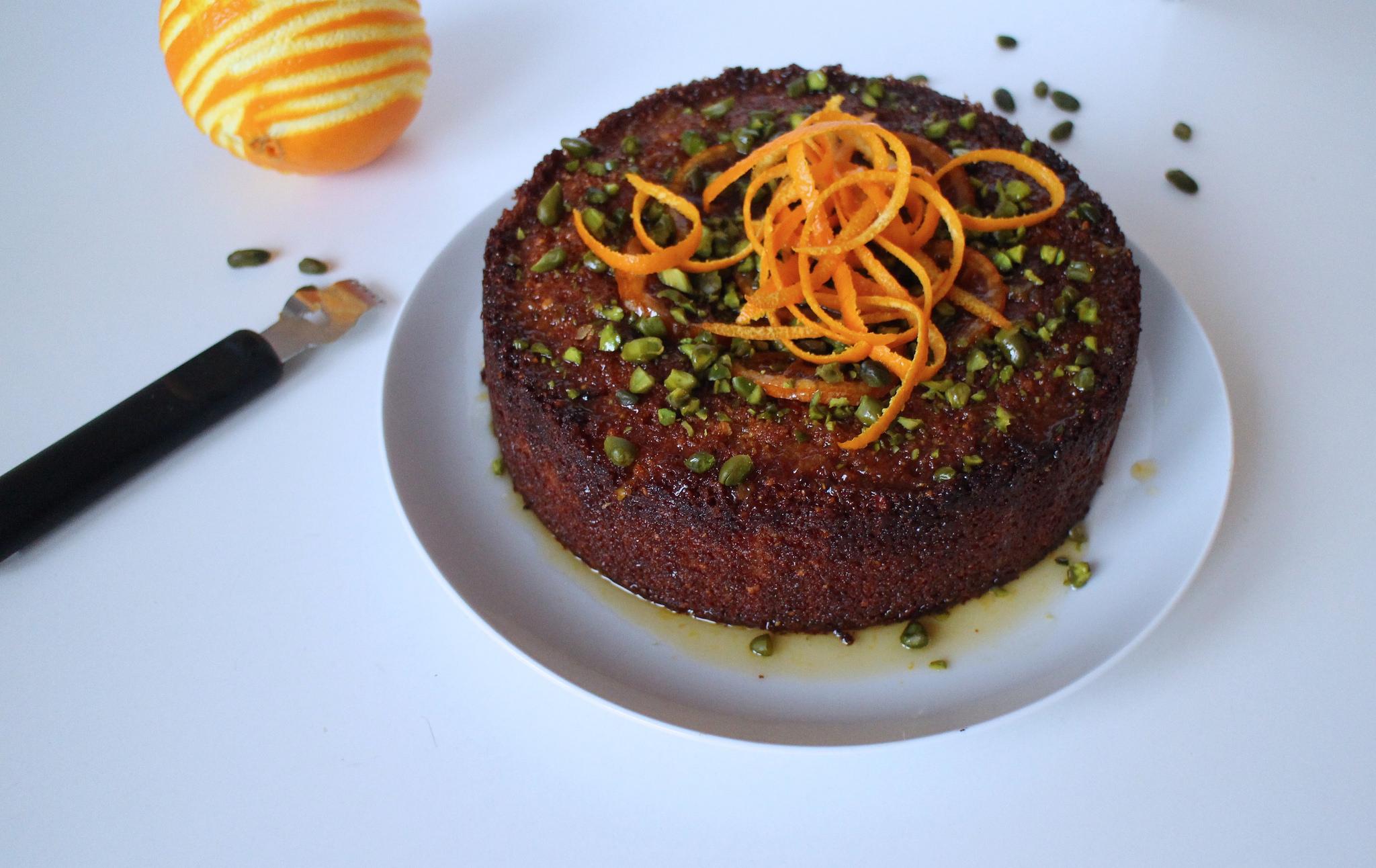 glutenfri kage med mandler