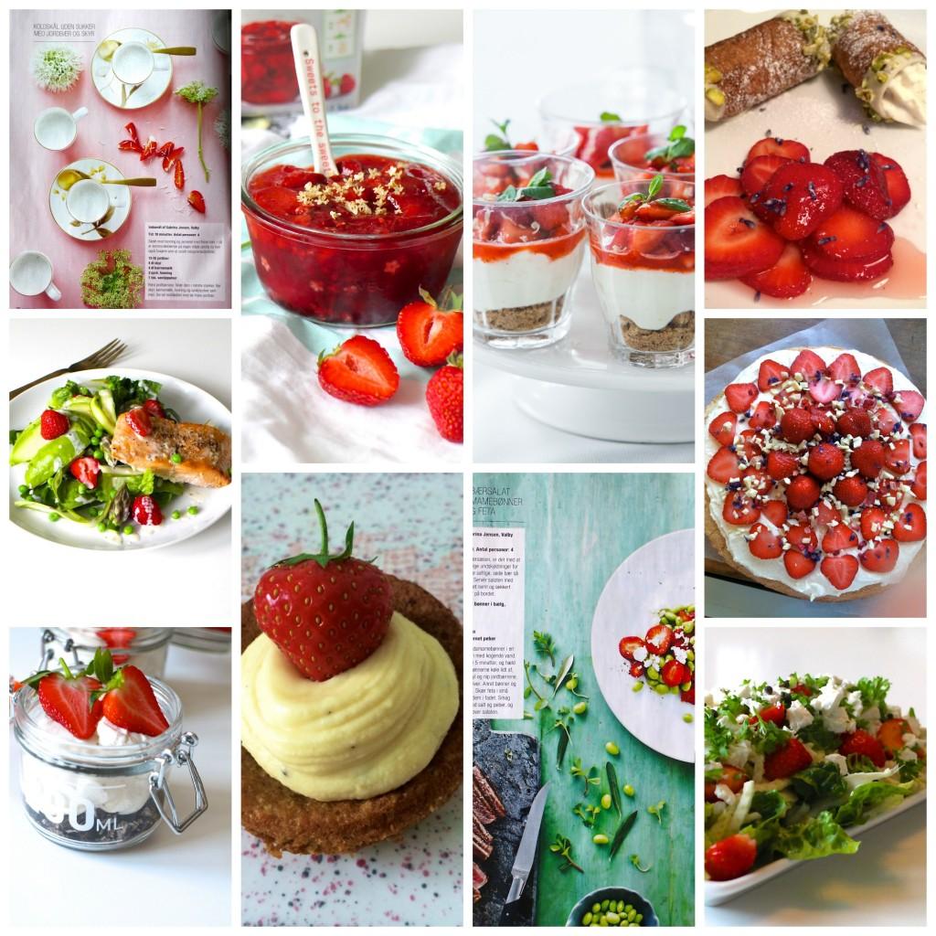 Sommerfavoritter med jordbær
