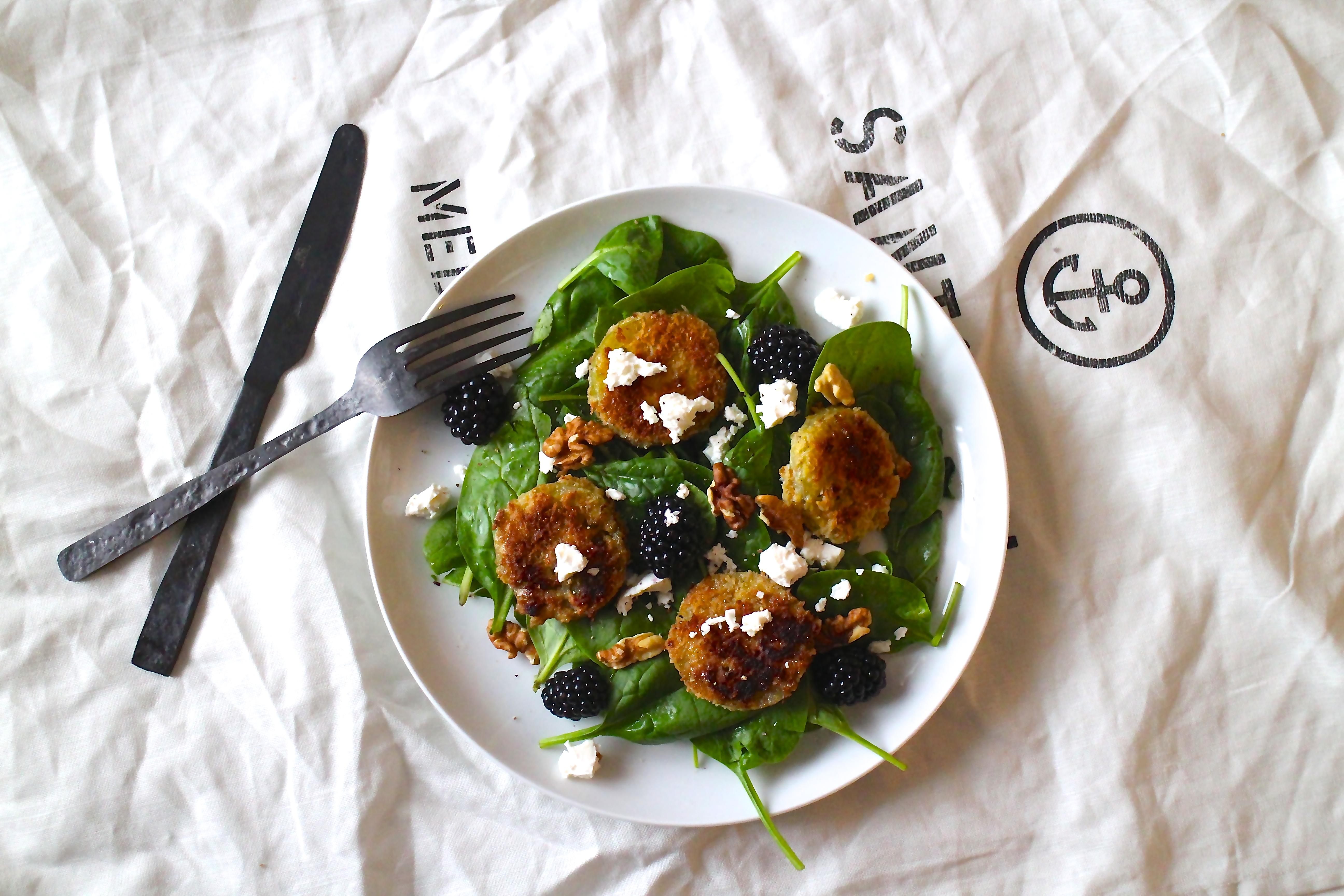 Stegte grønne tomater - Sabrina Hørup